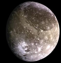 Ganymedes (Kredit: NASA/JPL/DLR)