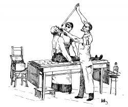 Zavádzanie rigidného gastroskopu. Kredit: Wikipedia