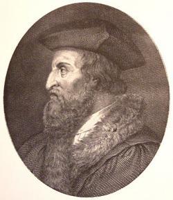 Girolamo Fracastoro 1478 - 1553, italský lékař, autor básně i názvu sifilis. Volné dílo, Wikipedia.