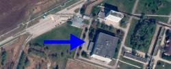 Budova institutu VEKTOR, kde došlo kexplozi. Kredit: Google Maps.