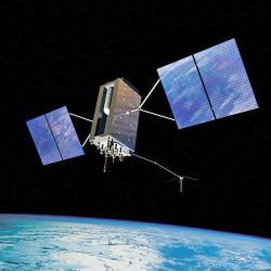 Satelit systému GPS třetí generace. Kredit: USAF.