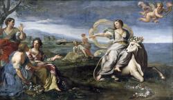 Zeus v podobě býka unáší Európu z fénického pobřeží (Libanonu), 1680 až 1685. National Gallery of Ireland. Kredit: Carlo Maratta, Wikimedia Commons.