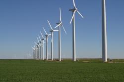 Větrná farma Brazos. Wikipedia.