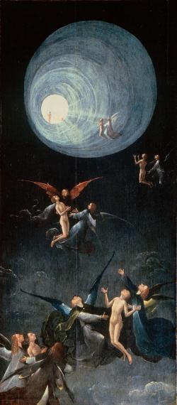 Klinická smrt v představě Hieronyma Bosche(Kredit: Web Gallery of Art)