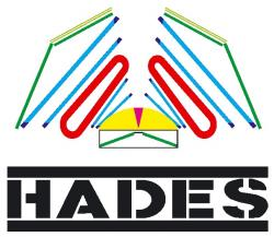 HADES Collaboration, logo.