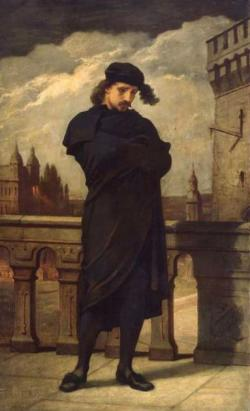 Hamlet, kredit: William Morris Hunt.