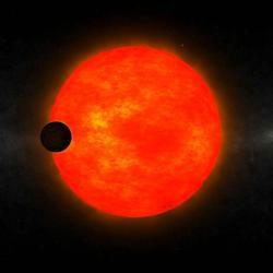 Podivuhodný planetární systém HATS-6. Kredit: ANU.