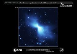 Mlhovina Bumerang pro tiskárnu. Kredit: ESA/Hubble.