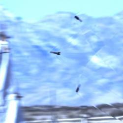 Hypersonicky vystřelený projektil railgunu. Kredit: General Atomic.
