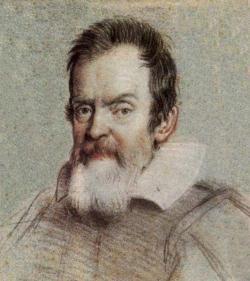 Galileo Galilei asi v 60 letech. Ottavio Leoni, asi 1624. Biblioteca Marucelliana, Florence. Kredit: Shimmin, Wikimedia Commons.
