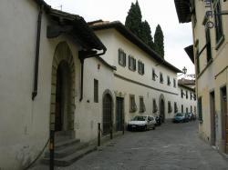 Villa Il Gioiello u Florencie, kde Galilei prožil v domácím vězení zbytek života. Kredit: sailko, Wikimedia Commons.