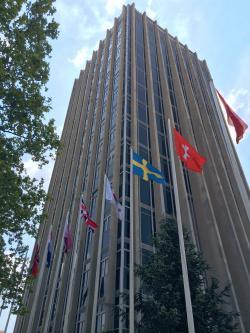 Sídlo Mezinárodní agentury pro výzkum rakoviny (IARC) v Lyonu, Francie. Kredit: Rystheguy, Wikipedia.