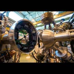 Cíl transportu antihmoty, zařízení ISOLDE. Kredit: Julien Marius Ordan/CERN.