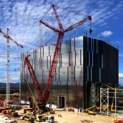 ITER, před pár dny. Kredit: ITER
