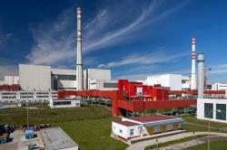 Jaderná elektrárna Mochovce. Do konce tohoto roku se u nového 3. bloku realizují horké hydrozkoušky a v prvním čtvrtletí se zaveze palivo. Na dokončení a spuštění se podílí i řada zkušených odborníků z Česka (zdroj Slovenské elektrárne).
