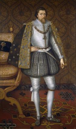 Jakub I. Stuart. Museo del Prado, volné dílo.