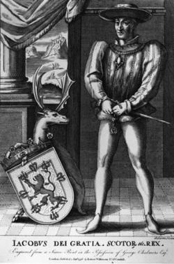 Jakub II. král Skotska v letech 1437 až 1460 (Kredit: Wikipedia, volné dílo)