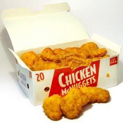 Chicken McNuggets. Kredit: KFC.
