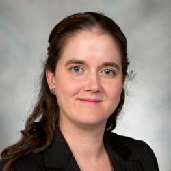 Kirstin Matthews, socioložka se specializací na etiku a religiozitu. Rice University.
