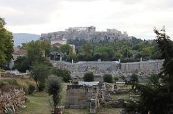 Kerameikos v Athénách, u antického hřbitova. Kredit: carlos corzo, Wikimedia Commons.