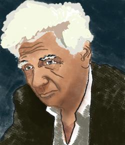 Jacques Derrida. Kredit: Pablo Secca, Wikimedia Commons.