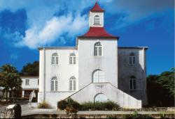 Kostel moravské církve v Sharonu