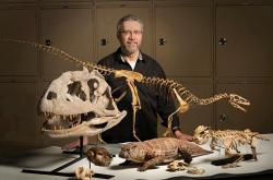 David W. Krause, první autor publikace a vedoucí mezinárodního kolektivu. Toho času kurátor Denver Museum of Nature and Science. Emeritní profesor na Stony Brook University, New York. (Kredit: DMNS)