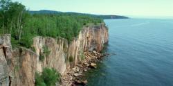 Hořejší jezero je největší a nejhlubšíjezeroz pětiVelkých jezervSeverní Americe s objemem vody 12100kilometrů krychlových. (Kredit Wikipedia, volné dílo)