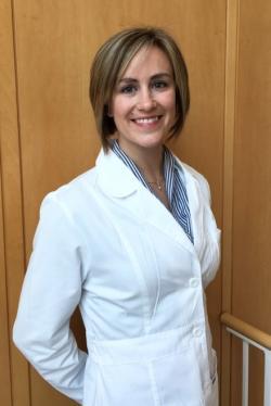 Monica M. Laronda, první autorka studie a šéfka laboratoře vyvíjející ovariální tkáň. (Northwestern University ,Department of Pediatrics)