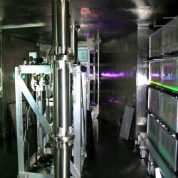 Nitro laseru LFEX. Kredit: Junji Kawanaka.