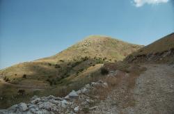 Hora Lykaion v Arkádii, 1421 m n. m. Kredit: Zde, Wikimedia Commons.