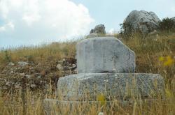 Zbytky oltáře Dia Lykajského. Kredit: Zde, Wikimedia Commons.