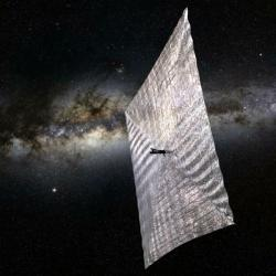 Projekt LightSail. Kredit: Josh Spradling / The Planetary Society. LightSailTIT.jpg