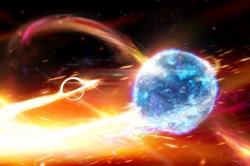 Černá díra nebo spíše neutronová hvězda? Kredit: Carl Knox, ARC.