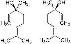 Linalool je přirozeně se vyskytující terpenový alkohol (monoterpenoid) obsažený v mnoha aromatických rostlinách, ale i kořenové zelenině. Často je problém se na něčem o linaloolu domluvit. Ne všichni totiž ctí toto jeho označení. Setkat se můžeme i s termínem β-linalool. Jiní zase preferují název p-linalool a další linalylalkohol, případně linaloyloxid, a nebo allo-ocimenol. Jasno začne být až když se napíše, že jde o 3,7-dimethylokta-1,6-dien-3-ol.