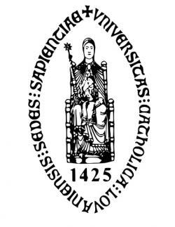 Logo Katholieke Universiteit Leuven.