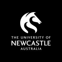 University of Newcastle, logo.