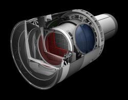 Největší navržená kamera v dějinách (nejen) astronomie.  Kredit: SLAC National Accelerator Laboratory