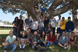 Philip Lubin a jeho tým. Kredit: P.Lubin / University of California, Santa Barbara.