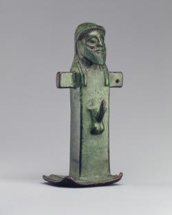 Hermés, bronzová soška 490 let ped n.l. Nyní v Metropolitním muzeu umění, New York.