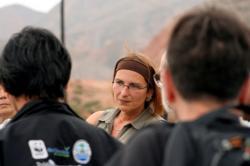 Madelaine Böhme je profesorkou paleontologie na Tübingen University a je považována za vedoucí osobnost výzkumného kolektivu. I když to ve svém Curriculum Vitae neuvádí, příjmení Böhme dává tak trochu tušit české kořeny její rodiny.