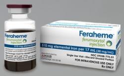 Feraheme je obchodní jméno ro ferumoxytol. Léčí se jím chudokrevnost z nedostatku železa. Nejspíš se jím začne léčit i rakovina.