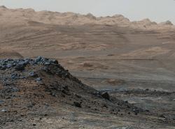 Mars. Zatím pusto a prázdno. Kredit: NASA/JPL-Caltech/MSSS.