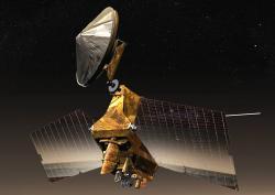 Sonda MRO - Mars Reconnaissance Orbiter. (Kredit: NASA/JPL)