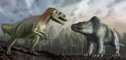 Již letmým pohledem si můžeme povšimnout, jak drasticky se za téměř dvě století změnil pohled na fyziologii a anatomii dinosaurů. První vědecky popsaný dinosaurus Megalosaurus bucklandii je toho dobrým příkladem. Moderní verzi od zastaralé jistě rozlišíte sami. Kredit: University of Warwick/Mark Garlick