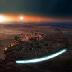 Bez hyperpohonu by to vpředaleké Galaxii nešlo. Kredit: Pandazoic / deviantart.