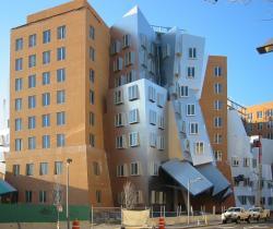Na MIT je futuristický i Campus. Na obrázku je Ray a Maria Stata centrum. Za prohlídku stojí i další obrázky – zde. Foto: Tjeerd Wiersma