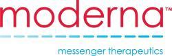 Moderna, Inc., logo.