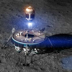 Moon Express cílí na Měsíc. Kredit: Moon Express.