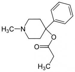 MPPP (Desmethylpropinnebo také 1-methyl-4-fenyl-4-propionoxypiperidin)  je levné opioidníanalgetikum. Při amatérské výrobě se lze jen těžko vyhnout tomu aby syntetický opiát nebyl kontaminován nebezpečnou příměsí MPTP.